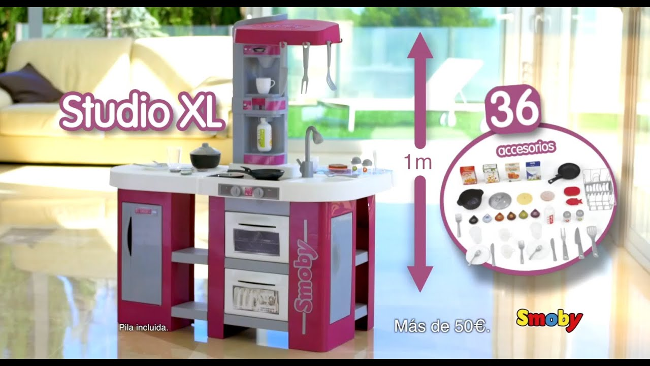 Cocina Studio XL  Smoby  YouTube