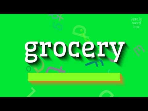 "How to say ""grocery""! (High Quality Voices)"