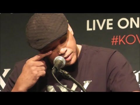 EMOTIONAL VIRGIL HUNTER SOUNDS OFF ON KOVALEV'S PAY AND RESPECT FOR TRAINER; EXPRESSES SADNESS