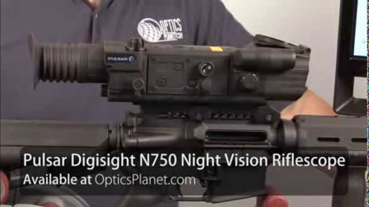 Pulsar digisight n night vision riflescope at opticsplanet