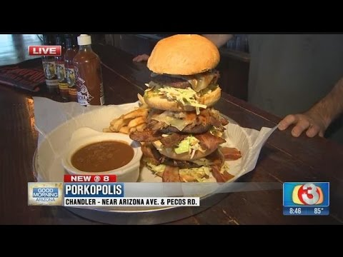 "Food Network's ""Ginormous Food"" features three Arizona restaurants"