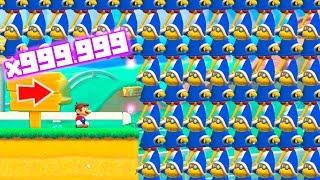 999.999.999 KAMEKS en Super Mario Maker 2