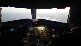 Landing at Gran Canaria
