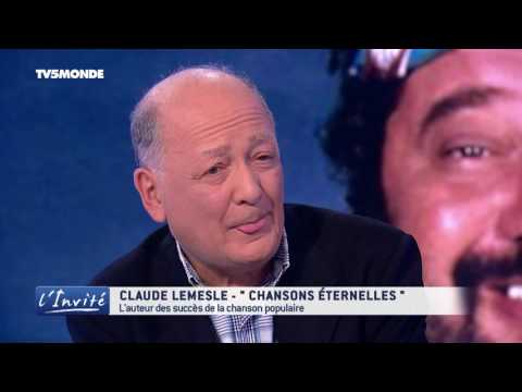 "Claude LEMESLE : ""Dassin, Johnny, Sardou, Carlos, c'était fou!"""