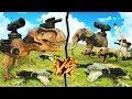 DINOSAURIOS Y ANIMALES ARMADOS HASTA LOS DIENTES | BEAST BATTLE SIMULATOR