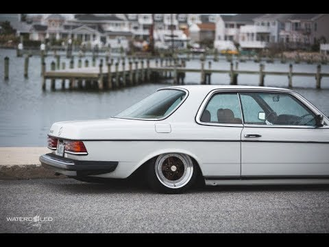 tuning mercedes benz w123 coupe stance works youtube. Black Bedroom Furniture Sets. Home Design Ideas