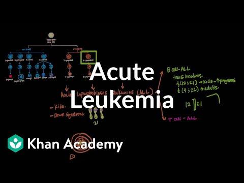 Acute leukemia | Hematologic System Diseases | NCLEX-RN | Khan Academy
