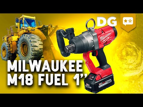 Busting 40 Year Old Nuts with a 1 Inch Impact Wrench | Milwaukee M18 FUEL 2867-20 REVIEW