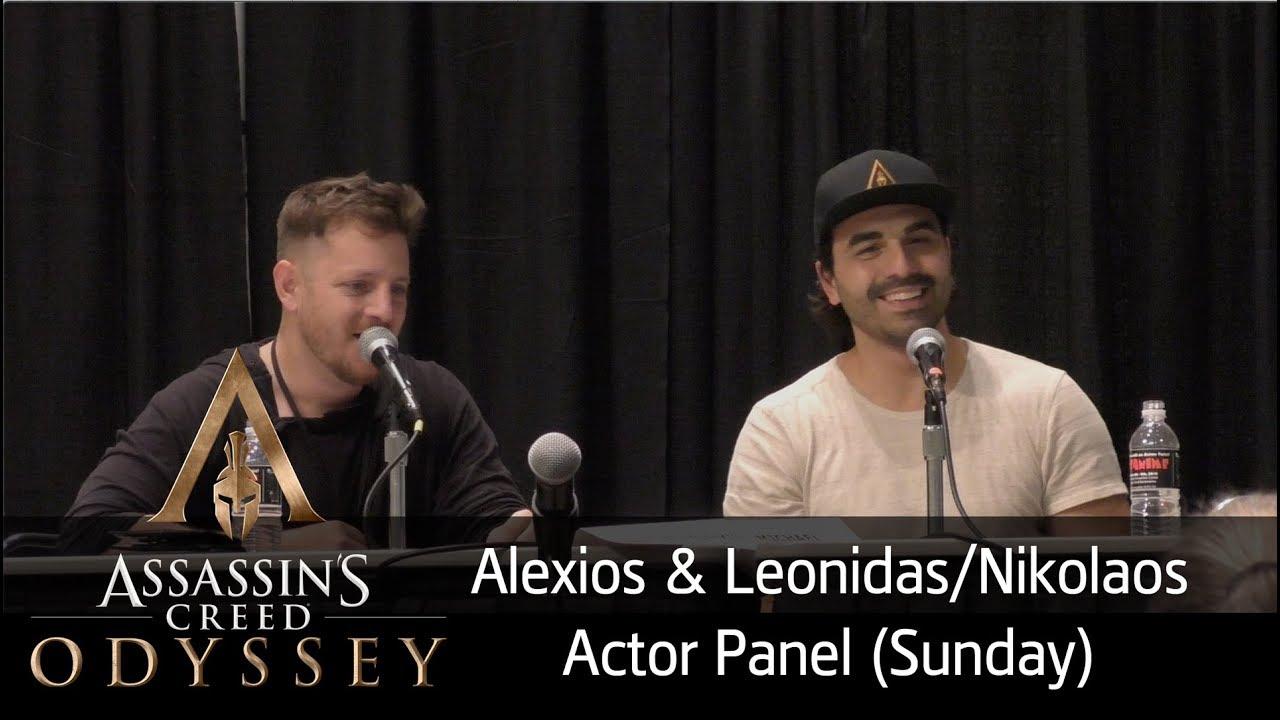 Assassin S Creed Odyssey Alexios And Leonidas Nikolaos Actor
