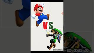 Battle of the facts Deathmatch:  link vs Mario