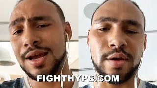 """STOP IT EJ"" - KEITH THURMAN TELLS ERROL SPENCE ""CAN'T TAKE THAT""; WARNS ABOUT ""PHILADELPHIA BRICKS"""