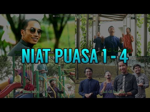 Niat Puasa 1 - 4 | Sterk Production