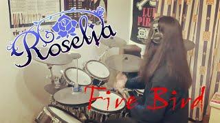 【BanG Dream(バンドリ!)】Roselia-Fire Bird ドラム 【叩いてみた】