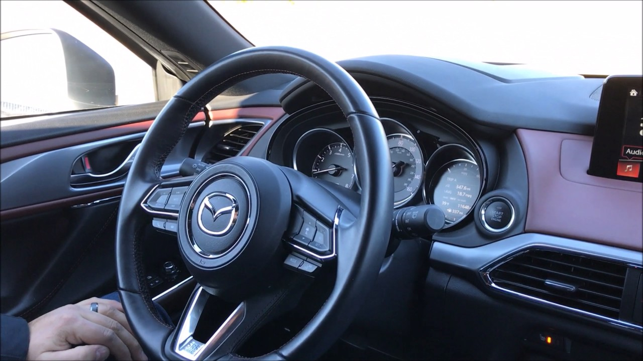 How To Adjust The Height Of The Mazda Cx 9 Active Driving Display