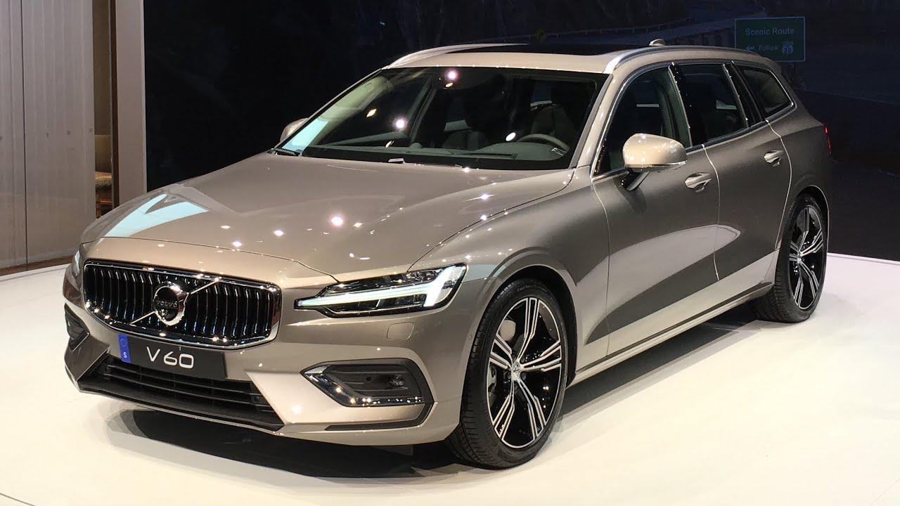 2018 volvo v60 world premiere walkaround at geneva motor show 2018 youtube. Black Bedroom Furniture Sets. Home Design Ideas