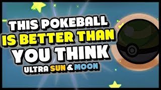THE BEST POKEBALL IN POKEMON ULTRA SUN AND MOON - Catch them all easier!