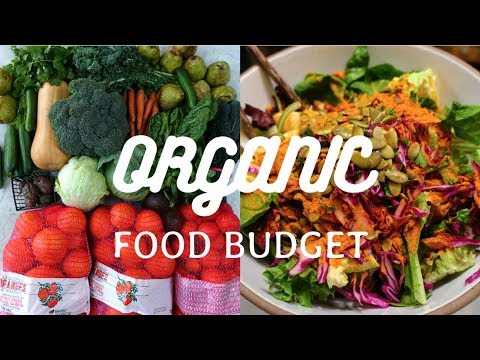 True Cost ORGANIC VEGAN LOCAL Weekly Food Budget