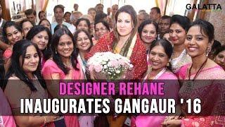 Designer Rehane inaugurates Gangaur 16