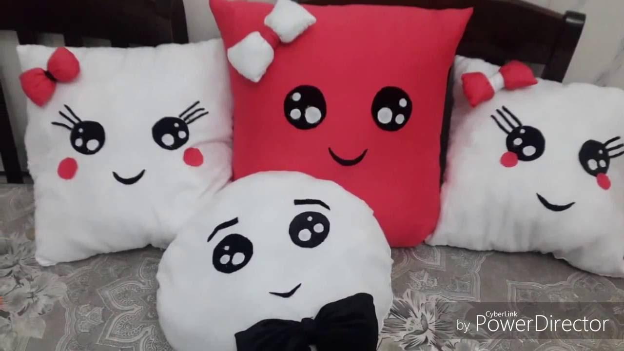 Bien-aimé comment faire un coussin sois meme / DIY pillow - YouTube QY81