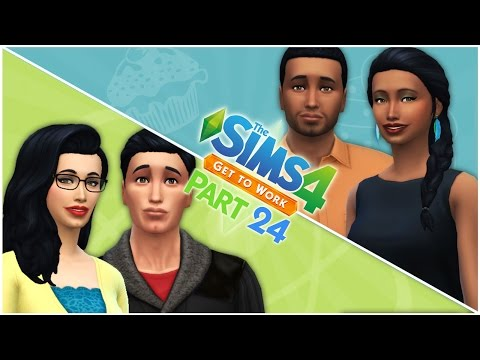 Let's Play the Sims 4 Get to Work (Part 24) Family Vacation!