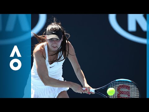 Eugenie Bouchard v Oceane Dodin match highlights (1R) | Australian Open 2018