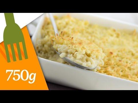 recette-du-gratin-de-pâtes---750g