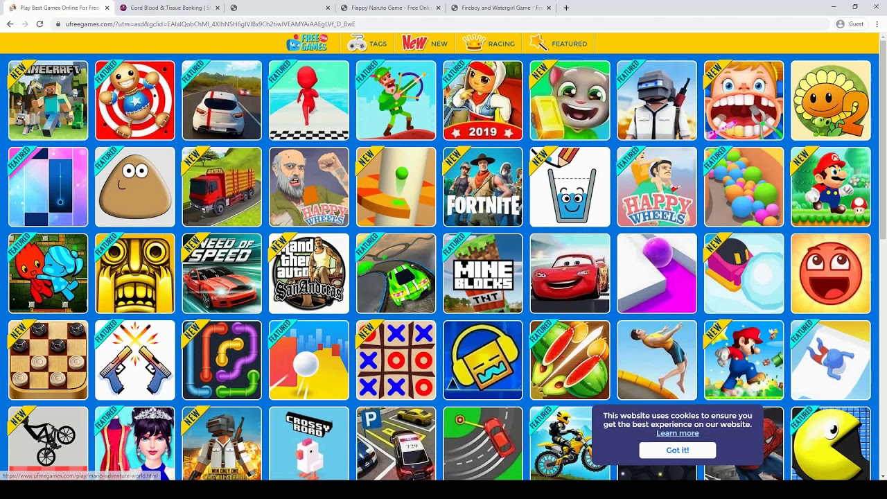 Fun Free Online Games Using the Power of the Internet ...