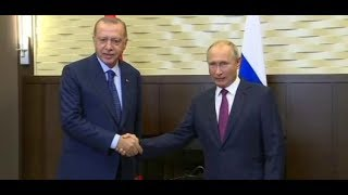 SOTSCHI: Erdogan und Putin beraten über Syrien-Konflikt