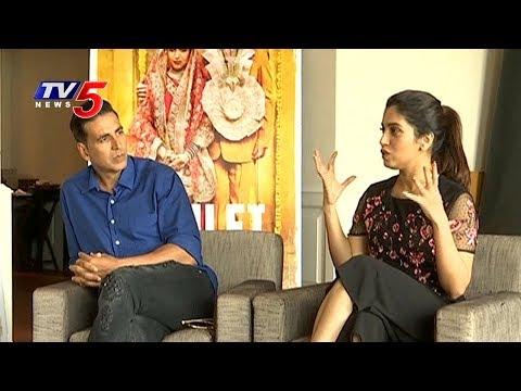 Exclusive Interview With Akshay Kumar And Bhumi Pednekar | Toilet - Ek Prem Katha | TV5 News
