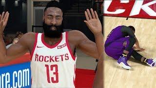 NBA 2k19 MyCAREER - James Harden Tries to Injure Me!! Ep. 20