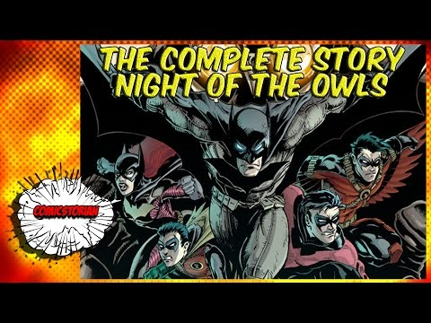 Night Of The Owls (Batman) - Complete Story | Comicstorian