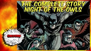 Night of the Owls (Batman) - Complete Story