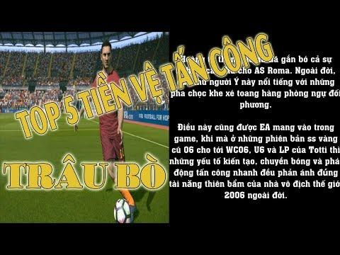 Top 5 tiền vệ tấn công trâu bò FIFA ONLINE 3 - Fan FO3