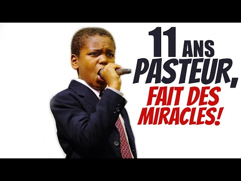 A 11 ans, Il est déjà Pasteur, fait des miracles, guerit les malades!