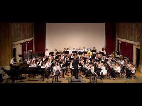 Jackson Middle School Symphonic Winds - March Diabolique