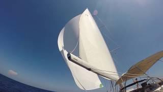2017 Season. Sailing Gibraltar to Malta - HR54 Cloudy  Bay, Jun 2017