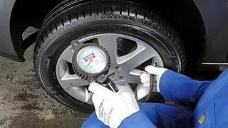 Давление в шинах. Почему важно следить за давлением в шинах?