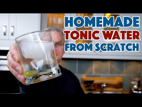 How To Safely Make Tonic Water At Home