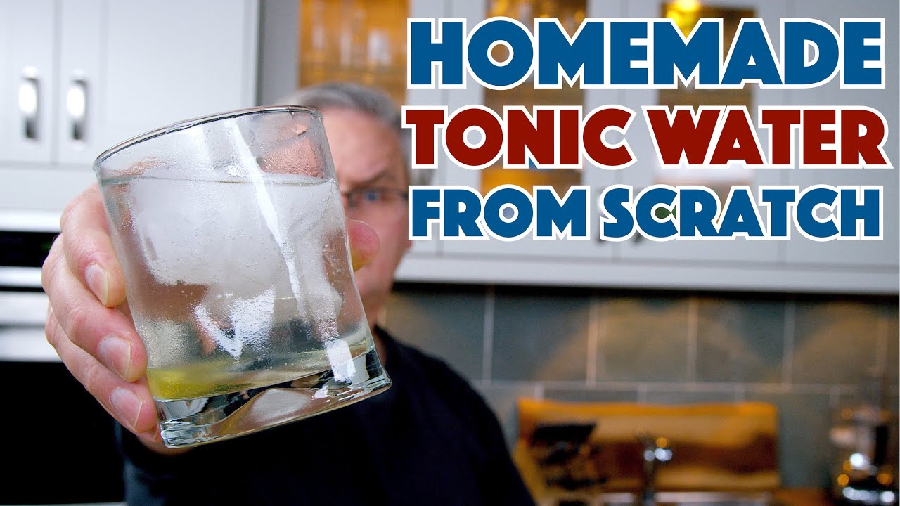 🍸 How To Safely Make Tonic Water At Home - Glen And Friends Cooking - Homemade Cinchona Tonic
