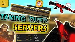 TAKING OVER ROBLOX SERVERS!!! [STEEL] *UPDATE* - Roblox Phantom Forces