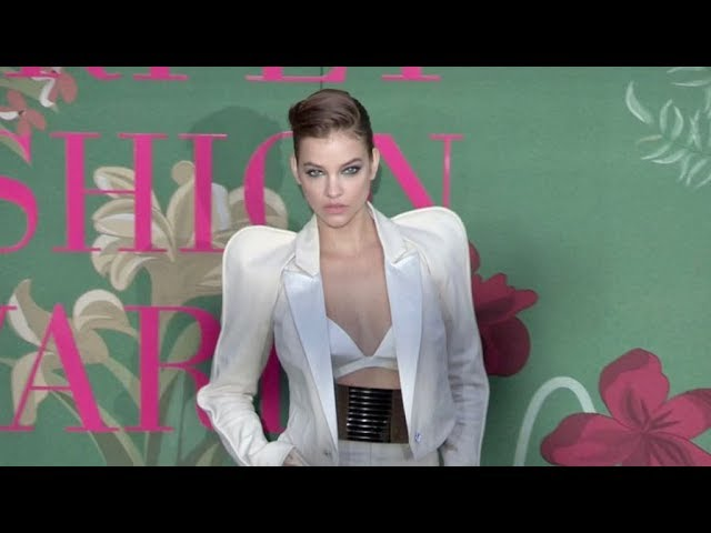 Barbara Palvin, Isabeli Fontana and more at the Green Carpet Fashion Awards in Milan