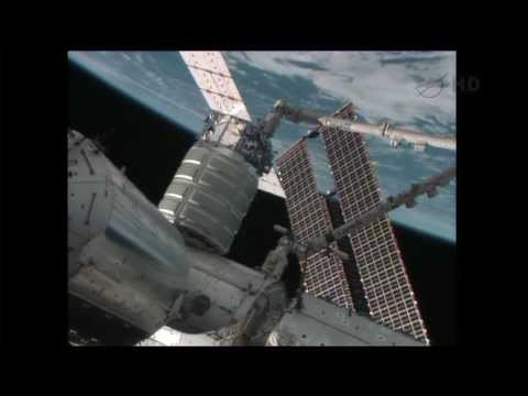 Orbital Sciences   Cygnus Cargo Ship Hatch Closing