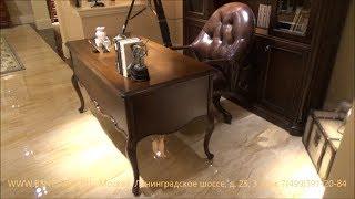 """Видео обзор: Классический Письменный стол и Шкаф """"Крофорд"""""""