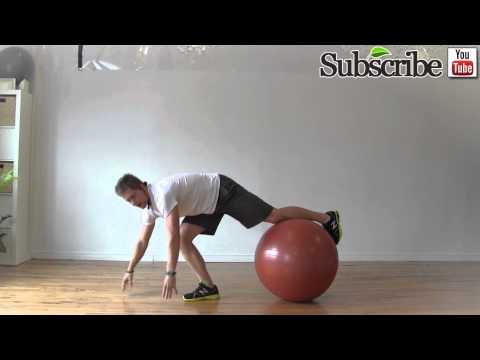 Advanced Exercise Ball Workout