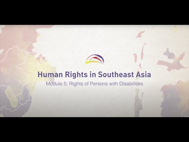 05 Rights of Persons with Disabilities