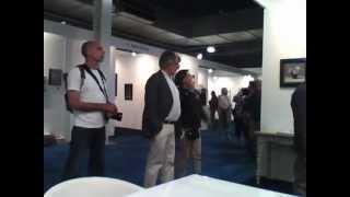 Roman Reisinger op de Open Art Fair 2012