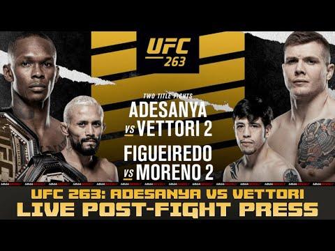 UFC 263 POST-FIGHT PRESS CONFERENCE: Adesanya vs. Vettori 2