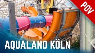 Alle Rutschen im Aqualand Köln | All Water Slides Onride (2016 Version)