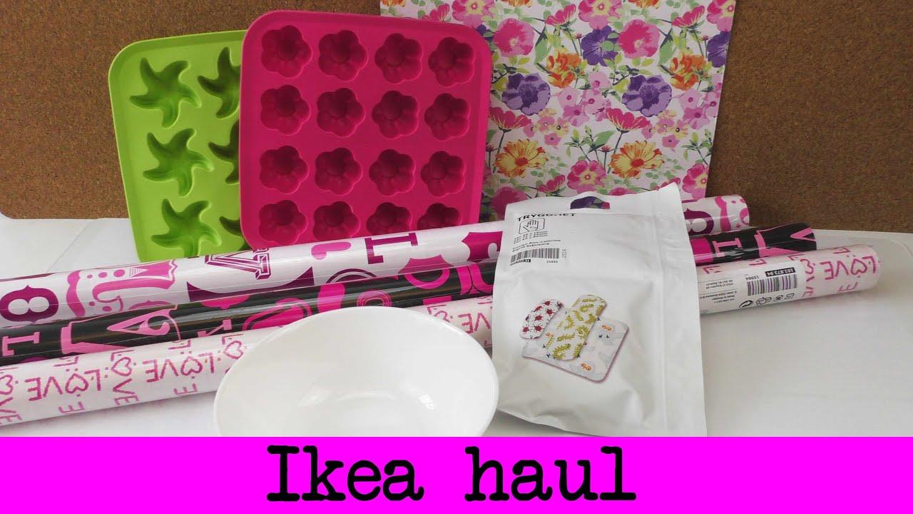 ikea haul eisw rfelf rmchen geschenkpapier und mehr f r den sommer youtube. Black Bedroom Furniture Sets. Home Design Ideas
