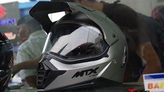 Review Helm Yamaha MTX - VLOG